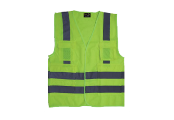 GFB004 HIGH VISIBILITY VEST-GREEN