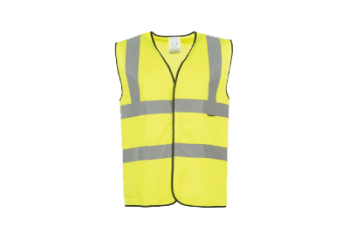 GFB005 HIGH VISIBILITY VEST-YELLOW