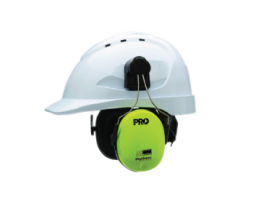 GHP003 HARD HAT WITH MUFFS